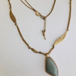 Long Gemstone Necklace